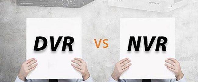 مقایسه دستگاه های NVR و DVR